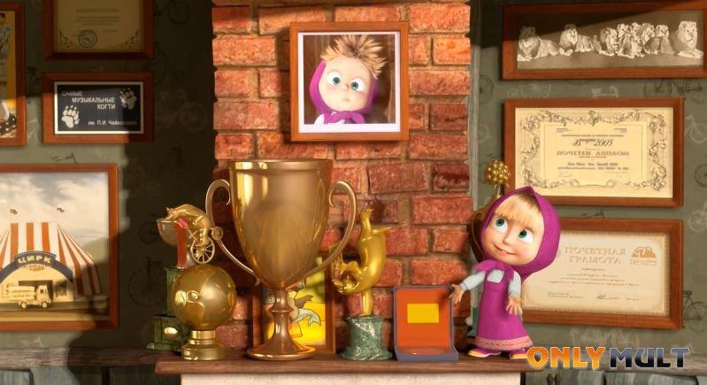 Третий скриншот Маша и Медведь (34 серия)