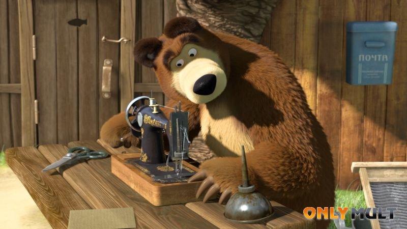 Первый скриншот Маша и Медведь: большая стирка