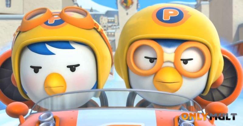 Третий скриншот Пингвиненок Пороро: Большие гонки