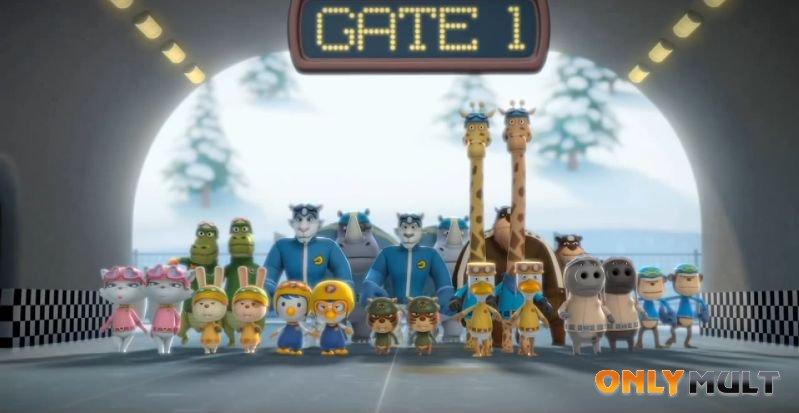 Первый скриншот Пингвиненок Пороро: Большие гонки