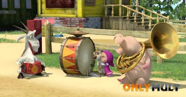 Первый скриншот Маша и медведь (37 серия)