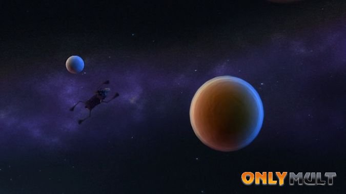 Второй скриншот Блэки летит на Луну