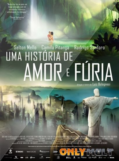 Poster Рио 2096: Любовь и ярость