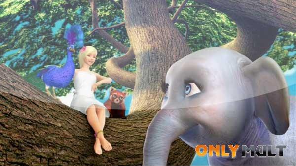 Второй скриншот Барби в роли Принцессы Острова