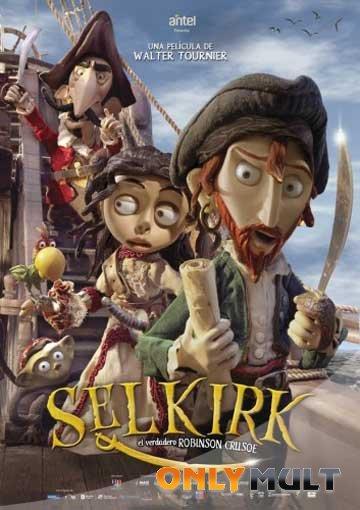 Poster Приключения Робинзона Крузо