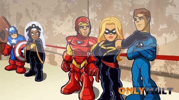 Первый скриншот Отряд Супергероев