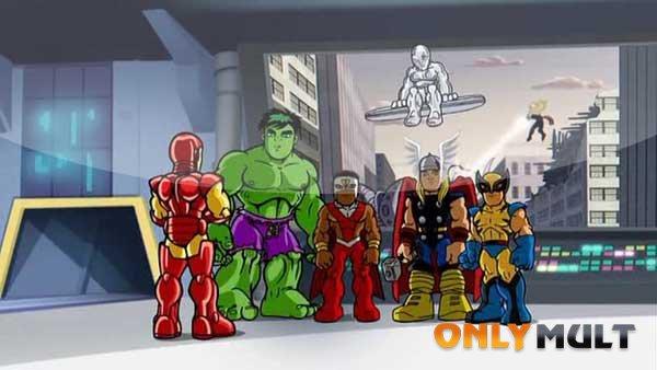 Второй скриншот Отряд Супергероев