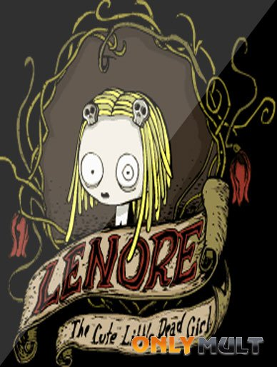 Poster Ленор, маленькая мертвая девочка