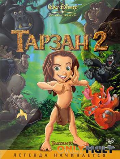 Poster Тарзан 2