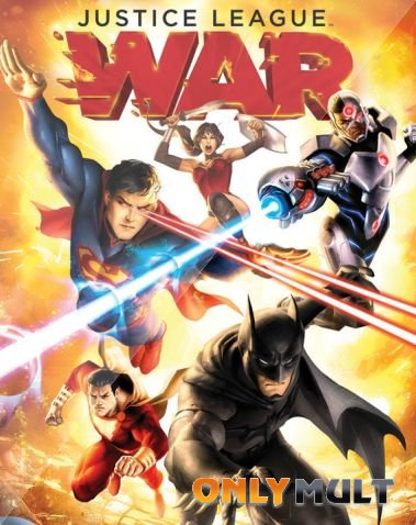 Poster Лига справедливости: Война