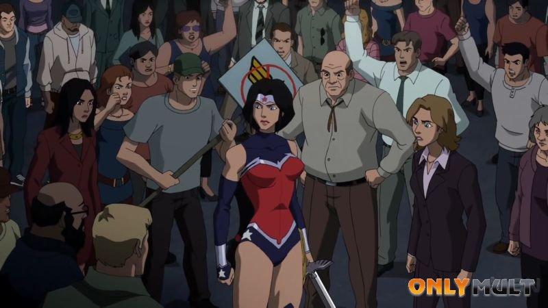 Второй скриншот Лига справедливости: Война