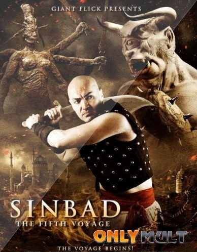 Poster Пятое путешествие Синдбада