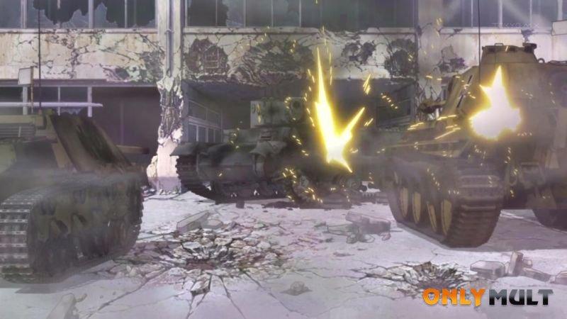 Первый скриншот Девушки и танки