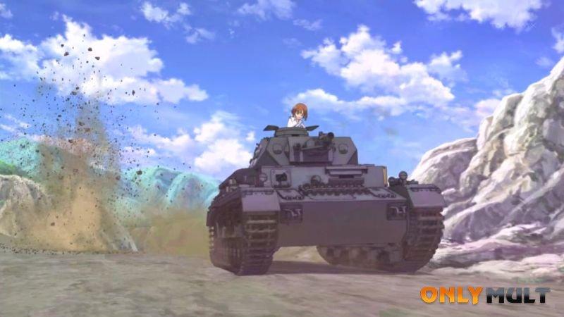 Второй скриншот Девушки и танки
