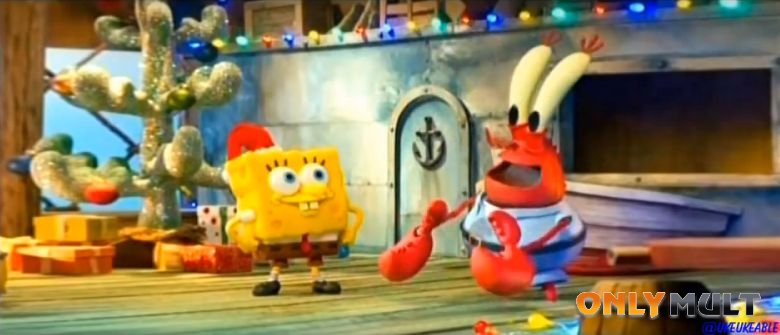 Второй скриншот Рождество Губки Боба