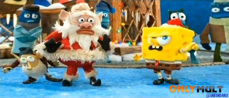 Третий скриншот Рождество Губки Боба
