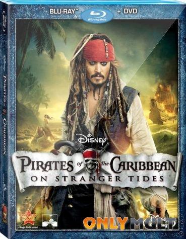 Poster Пираты Карибского моря на странных берегах