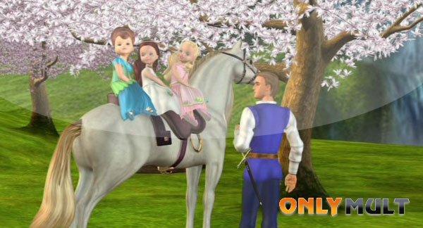 Первый скриншот Барби и Дракон