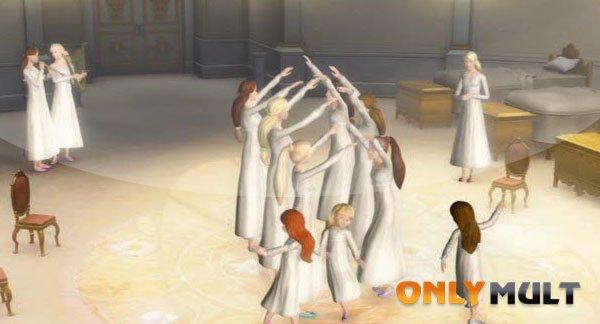 Первый скриншот Барби и 12 танцующих принцесс
