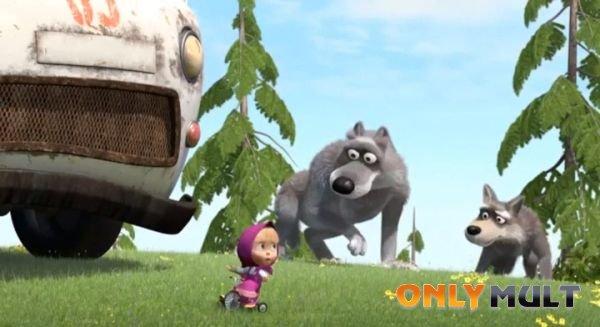 Второй скриншот Маша и медведь [38 серия]