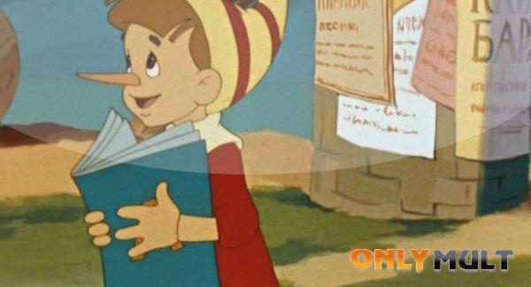 Второй скриншот Приключения Буратино