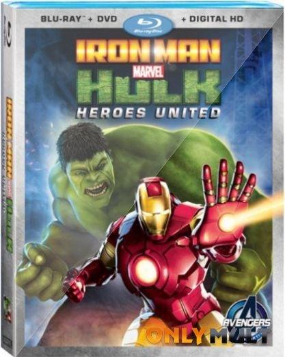 Poster Железный человек и Халк: Союз героев