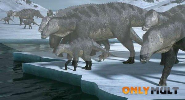 Первый скриншот Поход динозавров