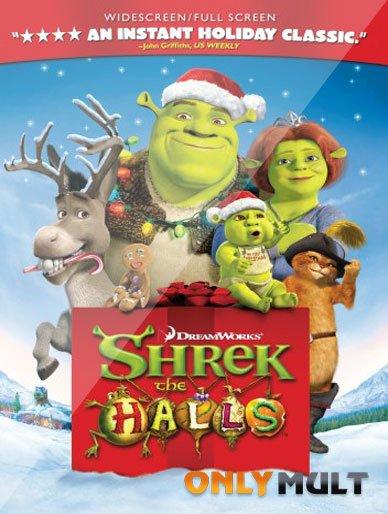 Poster Шрек мороз, зеленый нос