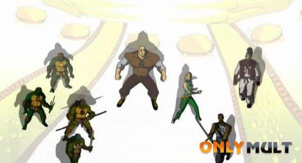 Первый скриншот Черепашки ниндзя: Новые приключения