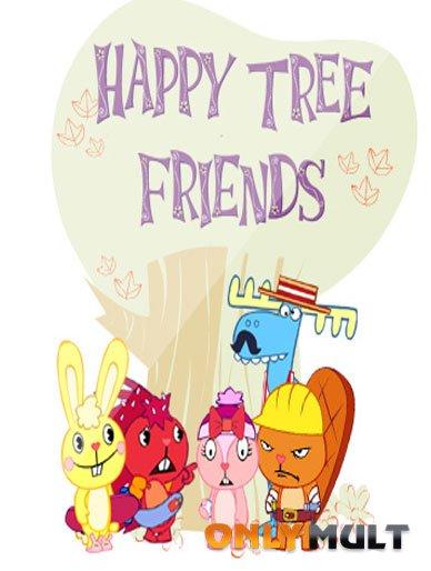 Poster Счастливые лесные друзья