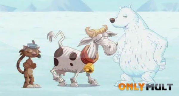 Первый скриншот Корова, кот и океан