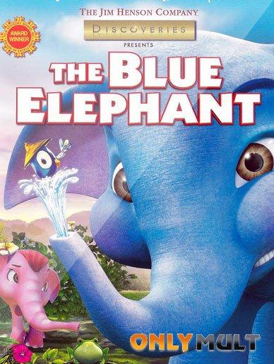 Poster Голубой слоненок