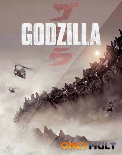 Poster Годзилла 2014