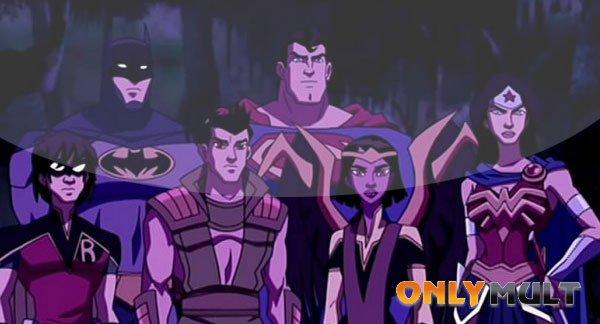 Третий скриншот Лига Справедливости в ловушке времени