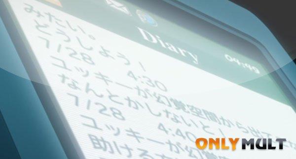 Первый скриншот Дневник будущего OVA