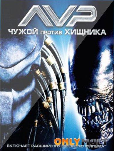 Poster Чужой против Хищника