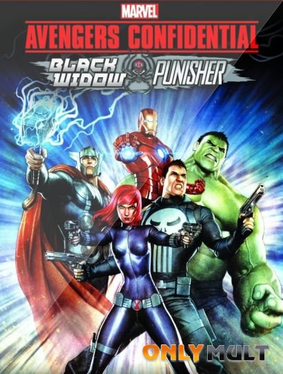 Poster Секретные материалы Мстителей: Черная Вдова и Каратель