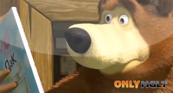 Третий скриншот Маша и медведь [40 серия]