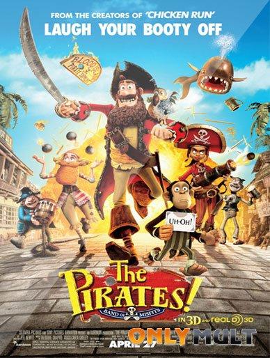 Poster Пираты: Банда неудачников