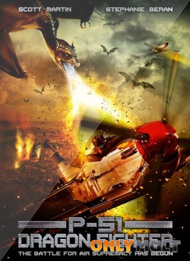 Poster P-51 истребитель драконов