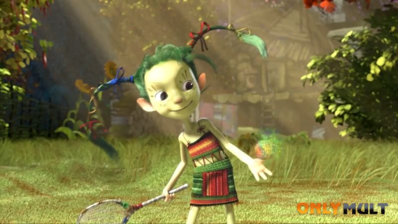 Второй скриншот Приключения Домовенка и его друзей