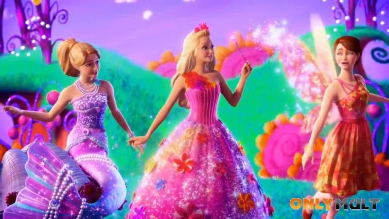 Второй скриншот Барби и потайная дверь