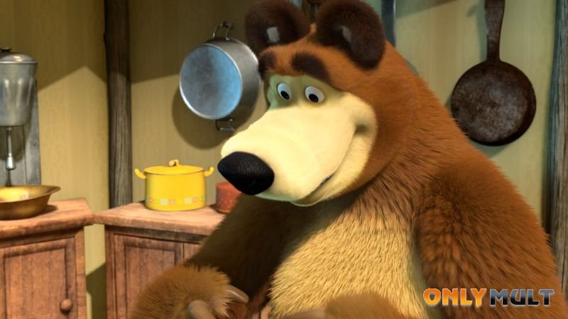Третий скриншот Маша и Медведь [42 серия]