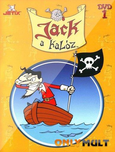 Poster Бешеный Джек Пират