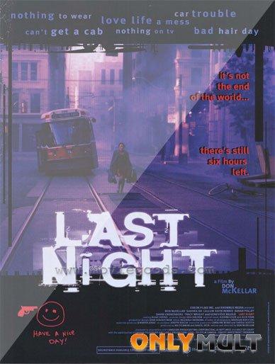 Poster Последняя ночь