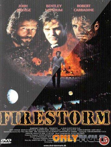Poster Огненная буря