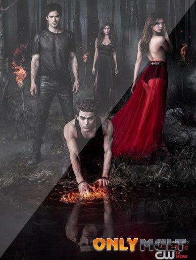 Poster Дневники вампира 5 сезон [все серии]