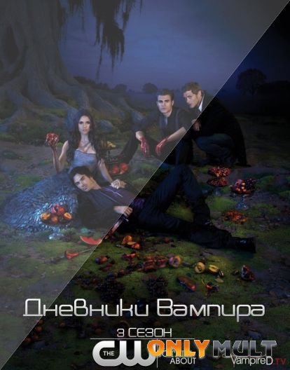 Poster Дневники вампира [3 сезон]