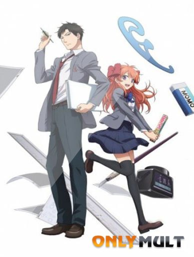 Poster Ежемесячное седзе Нозаки-куна