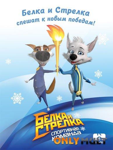 Poster Белка и Стрелка: Спортивная команда